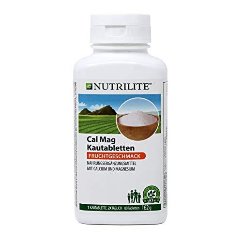 Cal Mag Kautabletten NUTRILITE™ - 80 Kautabletten / 162 g - Amway - (Art.-Nr.: 5847)