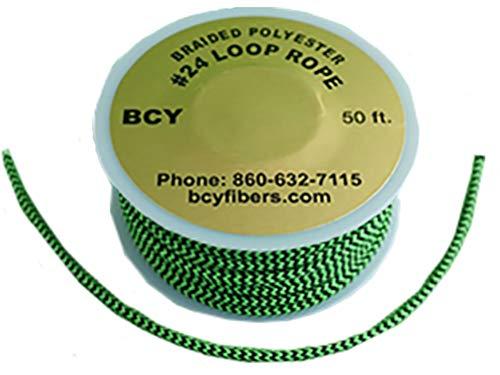 BCY 24 D-Loop Material Green/Black 1m