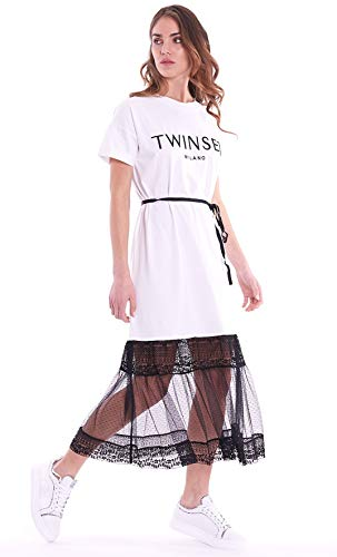 Twin Set Twinset Abito Pizzo Donna MOD. 211TT2290 M