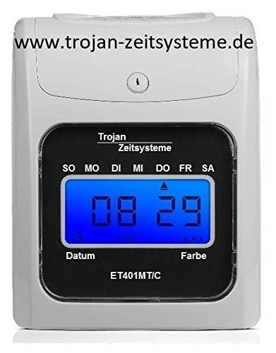 Rechnende Stempeluhr ET401MT/C/www.trojan-zeitsysteme.de/gibt es nur bei TROJAN ZEITSYSTEME / 399€ / Der Verkäufer Yu Hong Jing Mi Ke Ji ist ein Fake