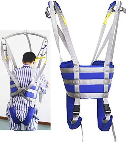 41XGCitnAtL - HPDOM Eslinga Elevadora para Pacientes Eslinga De Malla Grande Eslinga Dieléctrica Cinturón De Transferencia Eléctrica con Soporte para La Cabeza Discapacidad Médica Cómoda