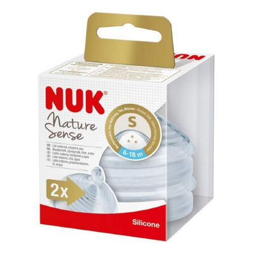 Nature Sense from NUK - Tettarelle da 6 a 18 m