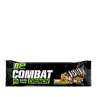 Muscle Pharm - combattimento Crunch Bar s' mores - 12 bar - 41XGE9FgosL. SS315