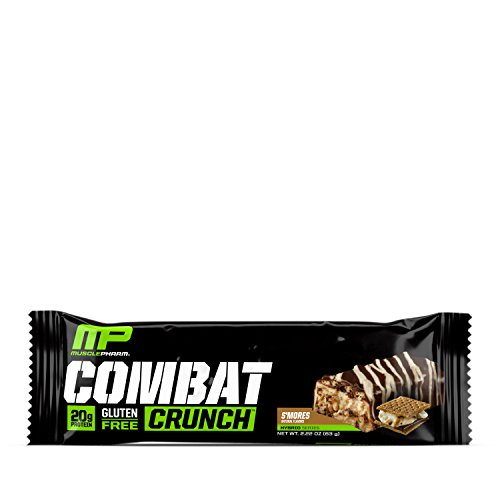Muscle Pharm - combattimento Crunch Bar s' mores - 12 bar - 41XGE9FgosL
