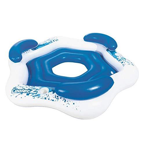 dailylime Hamaca De Agua Tumbona De Piscina Hamaca Flotante Balsas Inflables Sofá De Aire para Piscina Silla Flotante Cama Cama Flotante Piscina Flotador De Playa para Adultos Azul marvelously
