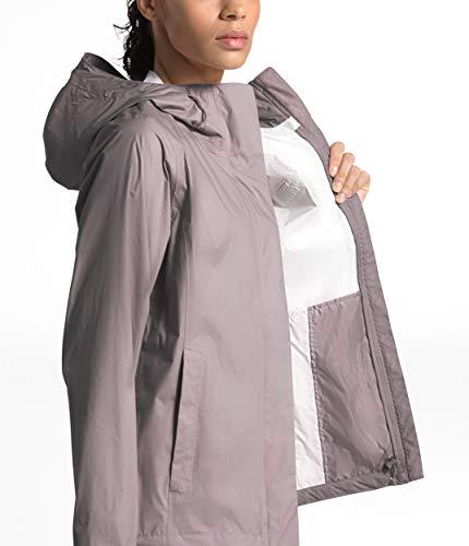 The North Face Women's Venture 2 Waterproof Hooded Rain Jacket, Ashen Purple, XS