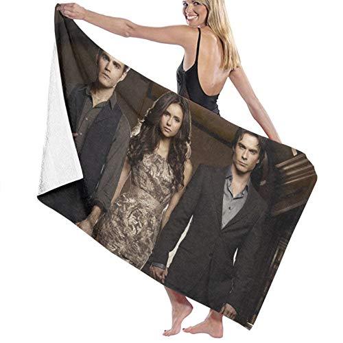 The Vampire Diaries Chic Soft Large Decorativo Eco-Friendly Toallas de mano Toalla de baño Multiusos para Baño Hotel Gimnasio y Spa