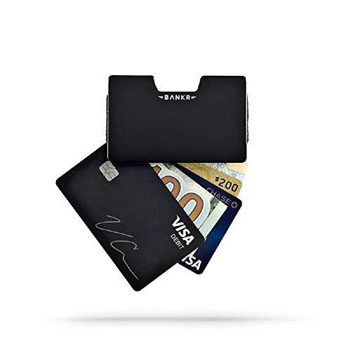 Bankr Slim Mens Credit Card Wallet, Fits 25 Cards & 20 Bills,RFID Blocking Tech