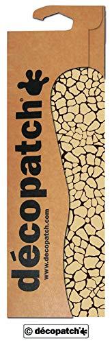 Decopatch Papier mit Reptilienmuster, 395x298mm, Beige, 3 Stück