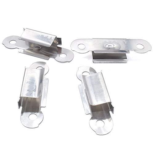 4pcs Ultimaker UM2 Hot bed glass plate fixation Clips