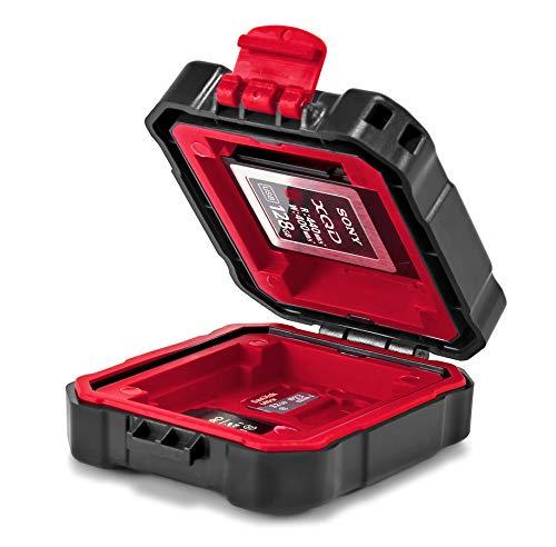 ROKO MCC-02 Mini Case voor CF, CFast, XQD, SD, Micro SD geheugenkaarten