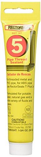 Rectorseal 25790 1-3/4-Ounce Tube No.5Pipe Thread Sealant