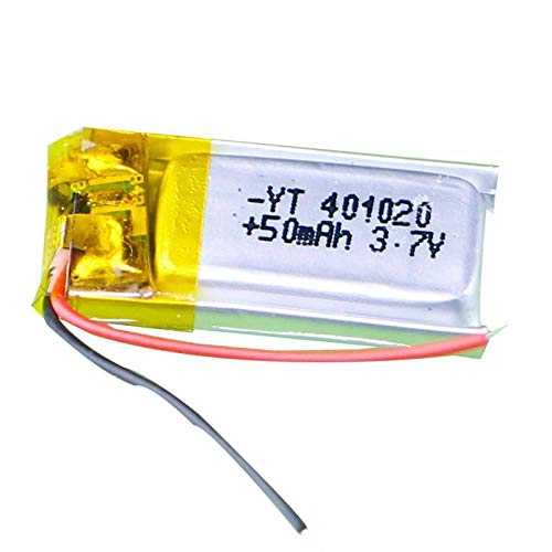 N/C 3,7 V 50 mAh 1S RC Toys Rc Autos Bluetooth-Lautsprecher Bluetooth-Headset Digitale Produkte Lithium-Polymer-Batterie 3,7 V 401020