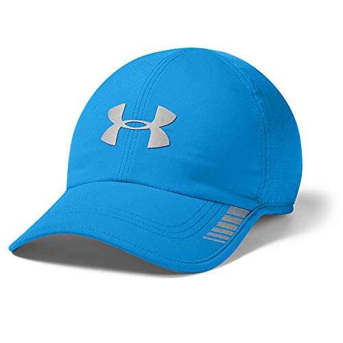 Under Armour Men's Launch ArmourVent Cap, Electric Blue (428)/Silver Reflective, One Size Fits All