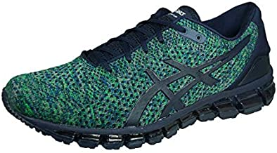 ASICS Gel Quantum 360 Knit 2 Mens Running Sneakers Fitness Shoes-Blue-12.5