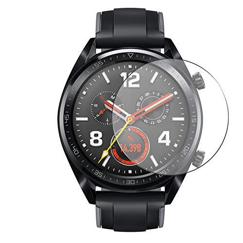 Vaxson 3 Unidades Protector de Pantalla, compatible con UMIDIGI UWATCH GT [No Vidrio Templado] TPU Película Protectora Reloj Inteligente Film Guard Updated Version
