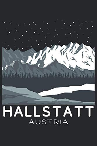 Hallstatt Journal: Austria Diary for Skier, Snowboarder, Hiker, Camper, Traveler | Austrian Alps Notebook | Blank Lined Composition Journal | 120 Pages 6