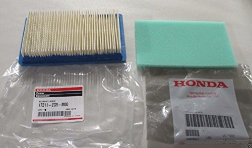 Honda 17211-ZG9-M00 Air Filter Kit With 17218-ZG9-M00 Pre-Filter