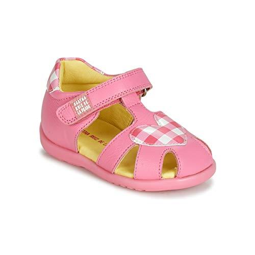 Agatha Ruiz De La Prada Happy Sandalen/Sandaletten Filles Rose - 19 - Sandalen/Sandaletten