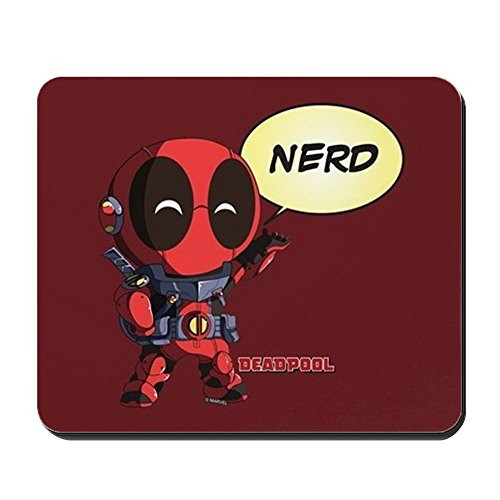 CafePress Deadpool Nerd Mousepad Non-Slip Rubber Mousepad, Gaming Mouse Pad