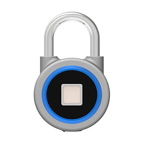 FUROO Mini Vorhängeschloss Für Gepäck Fingerabdruck-Verschluss Intelligent Bluetooth App Elektronische wasserdichte Anti-Diebstahl-Dorm Room Lagerhalle Tür