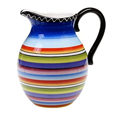 Certified International Tequila Sunrise Pitcher, 2.75-Quart