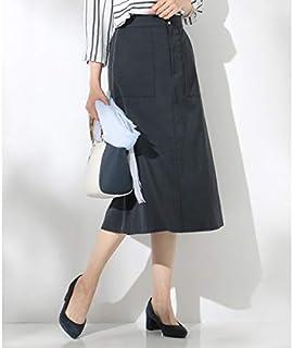 Jプレス Sサイズ(レディス)(J.PRESS LADIES S) 【洗える】T/Cリネンツイル スカート