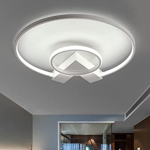Lámpara de techo LED moderna para dormitorio, decoración, regulable, de diseño, para pasillo, cocina, balcón, habitación de los niños, baño, habitación juvenil, rústica, comedor, lámpara de techo