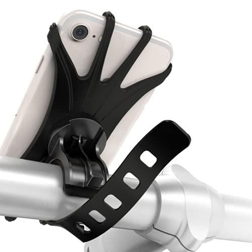 Soporte Movil para Bicicleta, Soporte Movil para Moto, GPS con Rotación de 360°