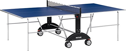 Kettler Competition 3.0 Indoor Table Tennis Table Bundle: 2 Player Set (2 Ace Rackets/Paddles and 6 Balls, 3-Star Rating)