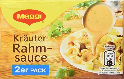 Maggi Kräuter Rahmsauce, 9er Pack, ergibt 18 x 250 ml