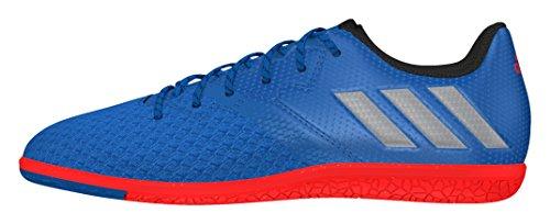 adidas Unisex Messi 16.3 In J Fußballschuhe, Azul (Azuimp/Plamat/Negbas), 38 EU