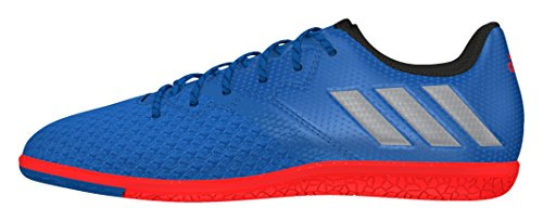 Adidas Messi 16.3 In J, Botas de fútbol Unisex Adulto, Azul (Azul/(Azuimp/Plamat/Negbas) 000), 38 EU