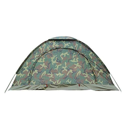 AUWU Tarnung Camping-Zelt Backpacking Zelt für Camping Wandern