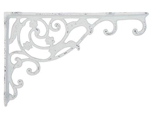 Clayre & Eef 6Y1763W Décoration Murale Blanc env. 32 x 4 x 21 cm.