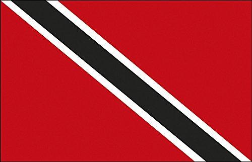 Décoration Drapeau – Trinidad + TOB – Taille : env. 150 x 90 cm – 80170 – déco Pays De Drapeau