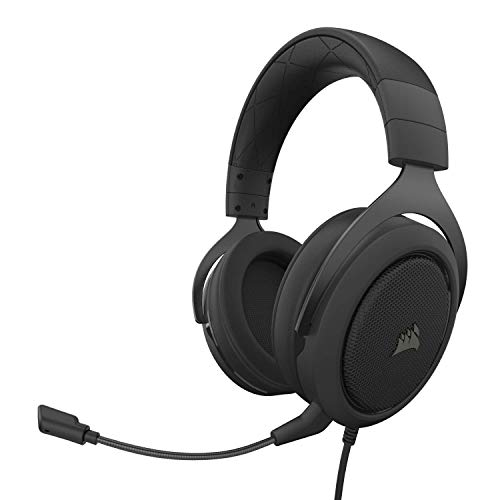 Headset Gamer Corsair HS50 Pro P2 Stereo 2.0 Para PC, Mac, Xbox One, PS4, Switch, iOS e Android - Preto CA-9011215-NA