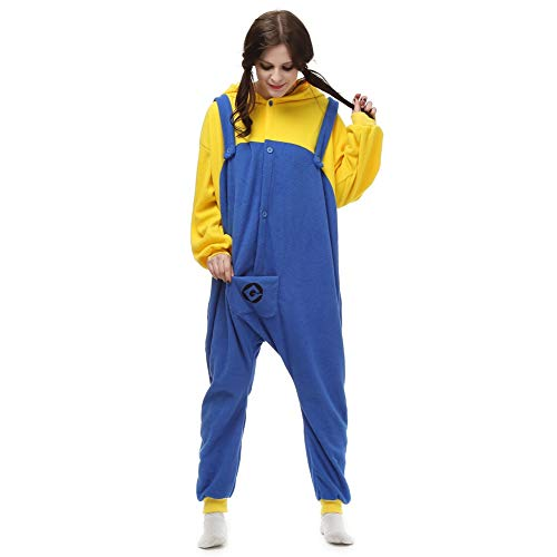 Halloween Costumes Unisex Adults Despicable Me Minions The Movie Pajamas Medium