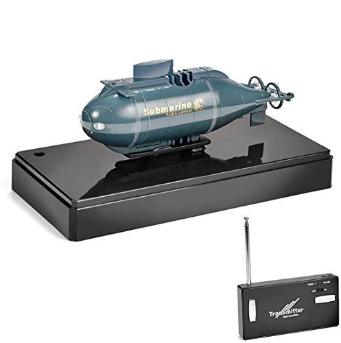 Goolsky Mini RC Racing Submarino RC con transmisor de 40MHz 777-216
