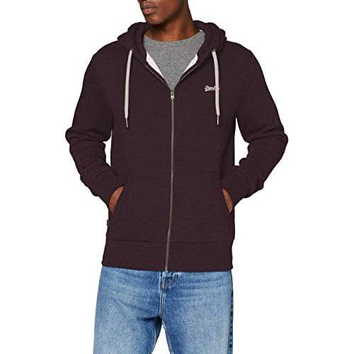 Superdry Men's Ol Classic Zip Hood Sweater