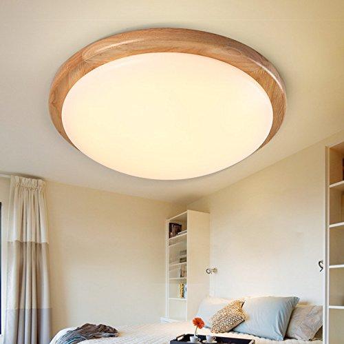 BRIGHTLLT Die LED-Leuchte Baumstämmen Schlafzimmer runde Japanisch Koreanisch Chinesisch balkon Deckenleuchte 3 Farben, 380 mm