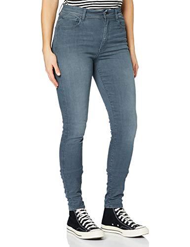 G-STAR RAW Damen Kafey Ultra High Wmn_Skinny Jeans, Schwarz (Worn In Chert Grey 9882-B178), 28W / 28L