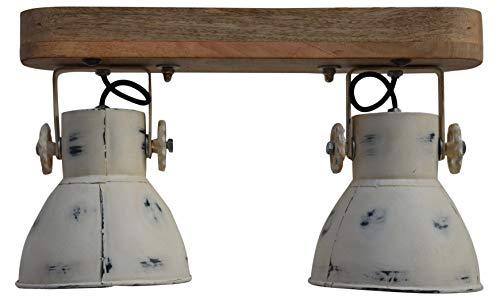 Hängelampe Deckenlampe Deckenspot Deckenstrahler Spotlampe Spot Retro Vintage Shabby Design für E27 Leuchtmittel (2er Spot)