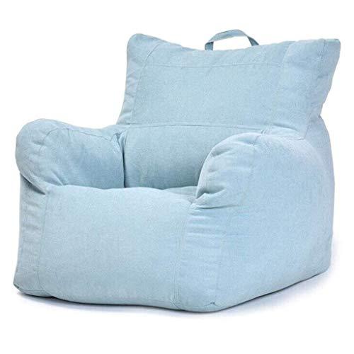 N/Z Wohnausrüstung Lazy Sofa Schlafzimmer Wohnzimmer Sitzsack Kleines Sofa Bequemer Sofastuhl Videospielstuhl Geeignet für Erwachsene (Farbe: A)
