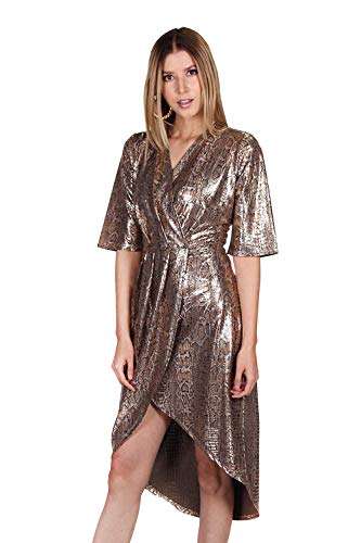 Vestido Dorado  marca Bobois