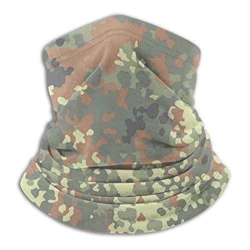 Osteaw Bundeswehr Camouflage Halstuch Halstuch Halstuch Bandana Gesichtsmaske UV für Motorradfahren Reiten Laufen Stirnbänder