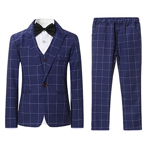 SWOTGdoby Boys Plaid Suits