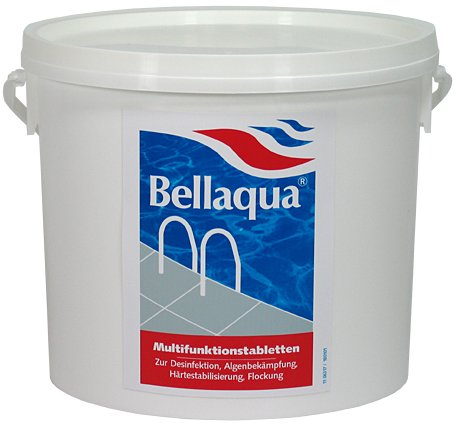 Bellaqua Multifunktionstabletten Chlor 4in1 (200 g) 5,0 kg