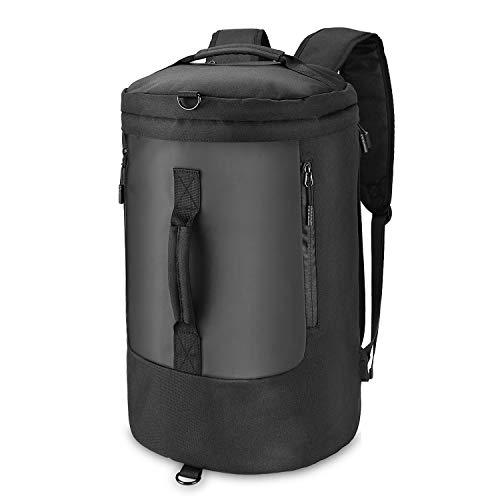outlife 40L Reisetasche Sporttasche Laptop Rucksack Einstellbar mit USB Charging Port für Männer und Frauen Reisen Wandern Outdoors
