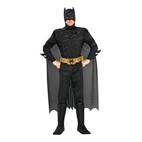 NET TOYS Original Batman Kostüm L 52/54 Batmankostüm Superhelden Kostüm Fledermaus Outfit Verkleidung Herren Männer